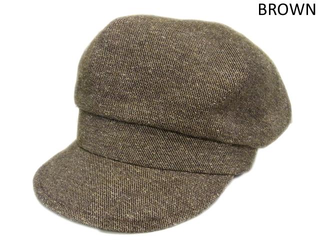 【KNOWLEDGE(ナレッジ)オリジナル】 Wool Semi Wide Cas(日本製) カラー:ブラウン