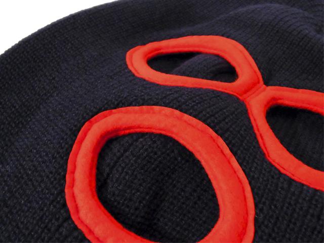 【KNOWLEDGE(ナレッジ)】 Destroyer Knit(日本製) カラー:ネイビー
