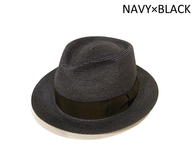 ABACA STANDARD(日本製) カラー:ネイビー×ブラック